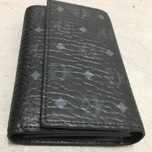 MCM SMALL FRENCH TRIFOLD WALLET